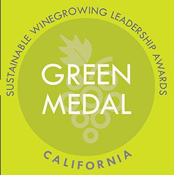 Green Medal Program Logo